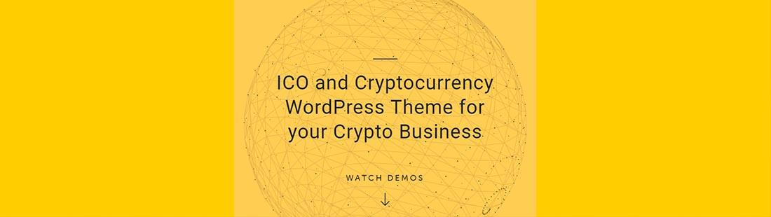 Premium ICO and Cryptocurrency WordPress Theme Crypterio