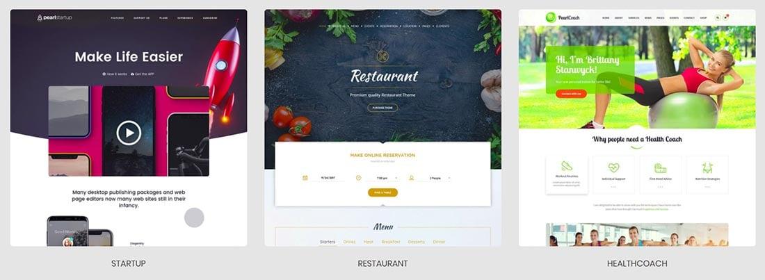 Pearl Premium Business WordPress Theme
