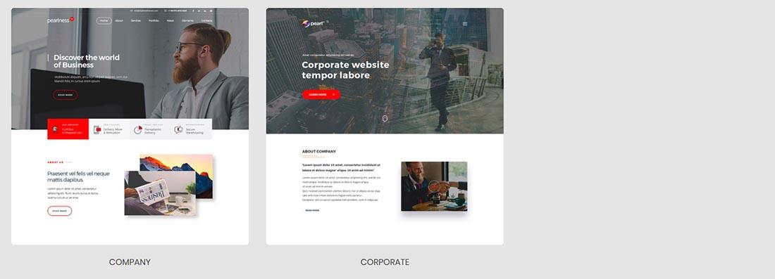 Pearl - Premium Business WordPress Theme by StylemixThemes