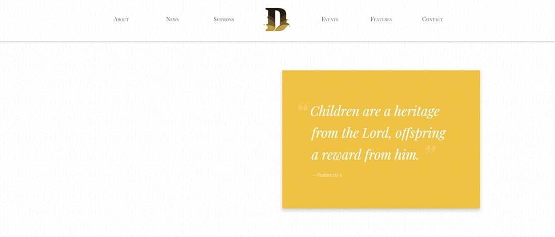 Divinity Non Profit Website Template