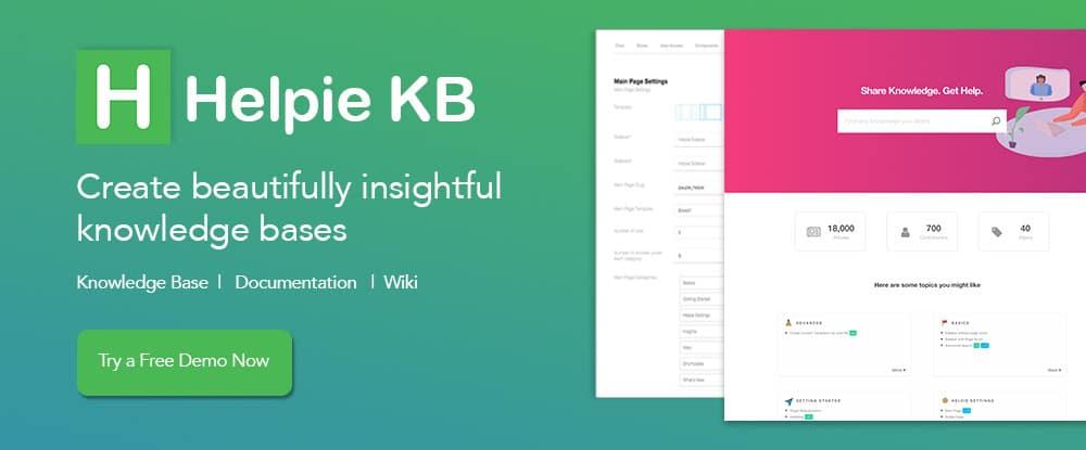 Helpie WordPress Plugin