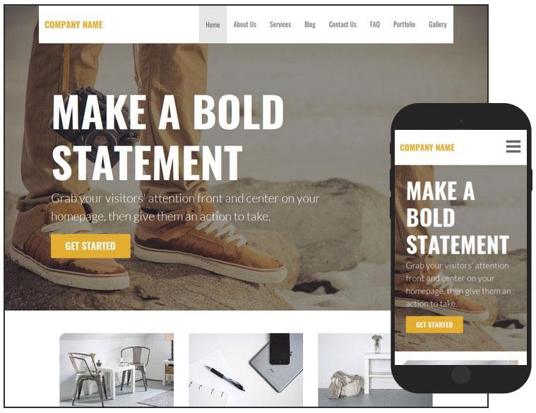 10 Stout Photography Service WordPress Theme