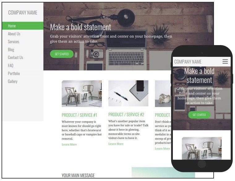 4 Escapade Web Design WordPress Theme