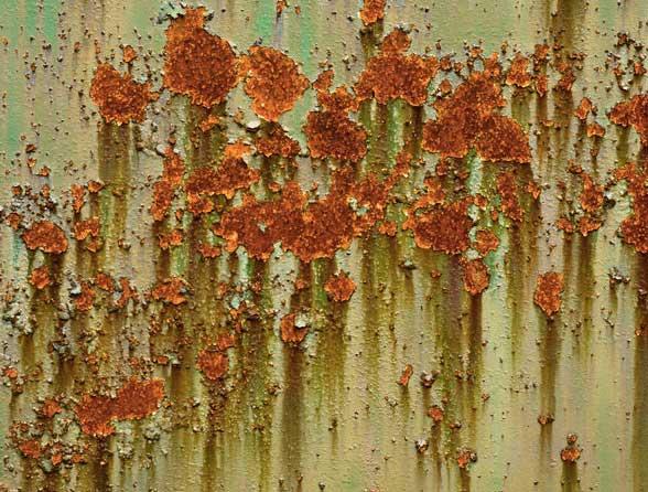11 Rust Splatters Textures