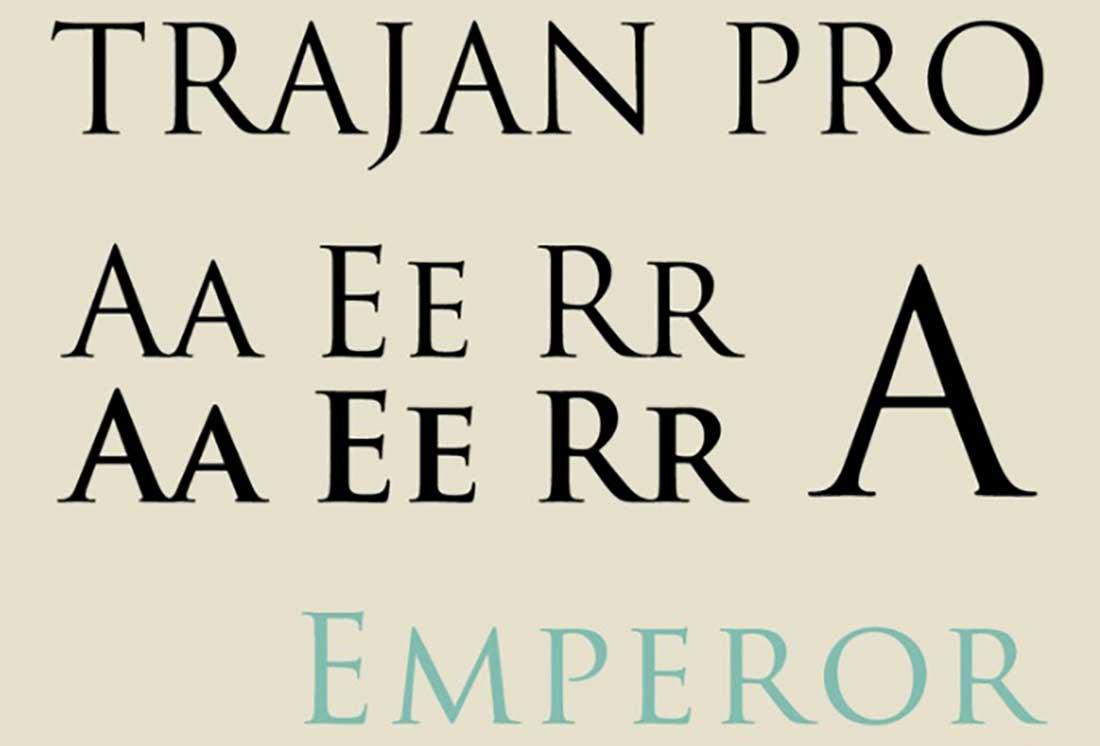 5 Trajan Pro Worst Fonts