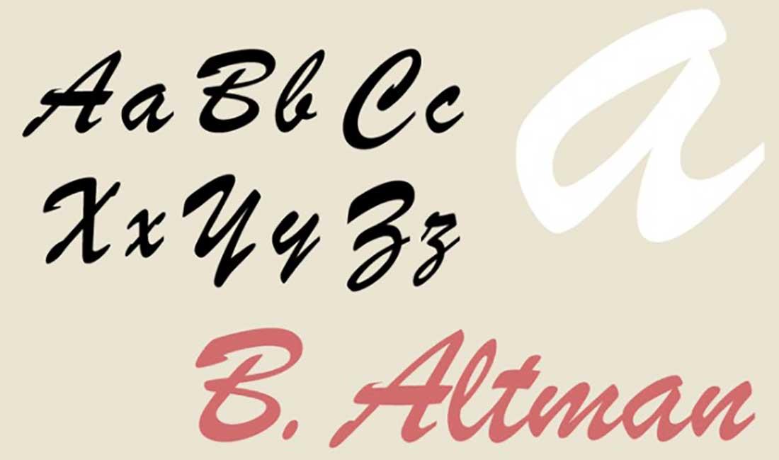7 Brush Script Worst Fonts