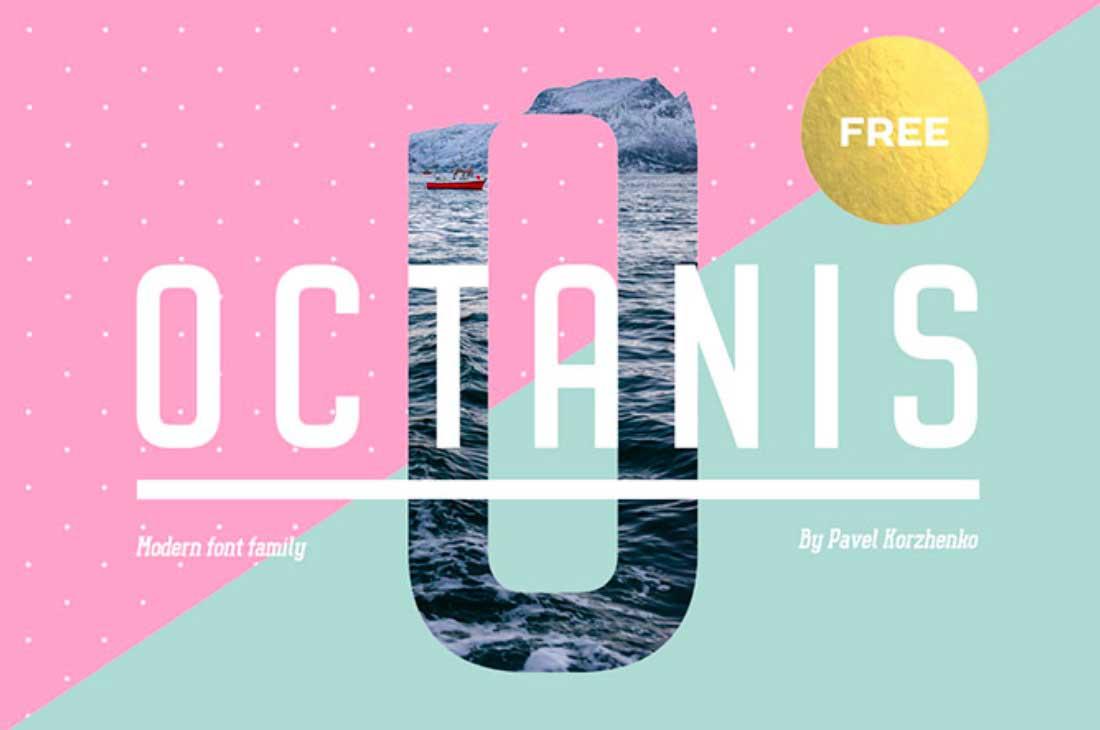 12 Octanis Contemporary Font