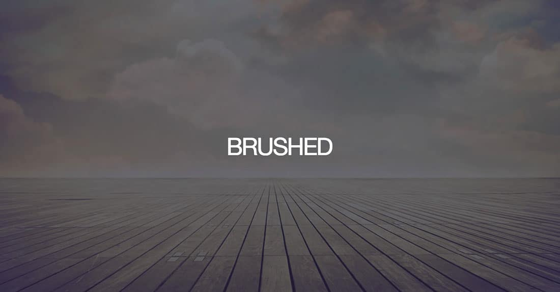 16 Brushed Free Boostrap Theme