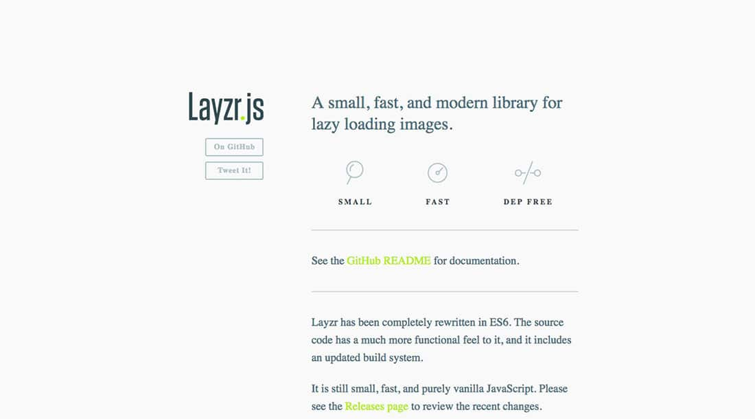 21 Layzr JavaScript Animation