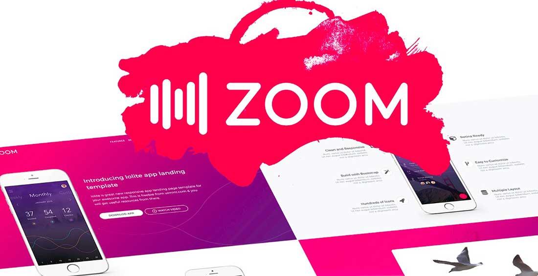 23 Zoom UI kit