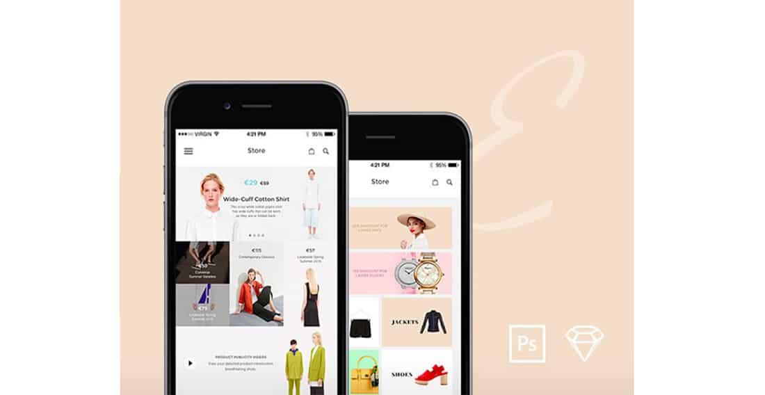24 Elegance iOS UI Kit Free