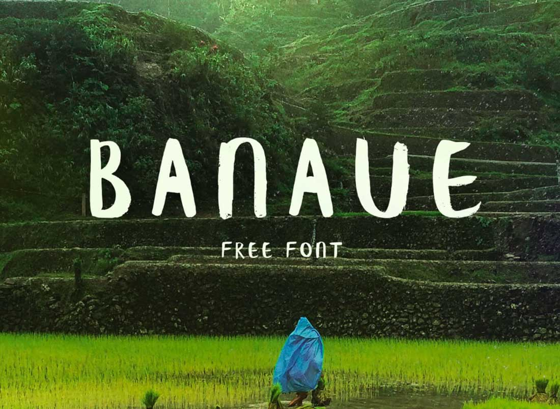 9 Banaue Contemporary Font