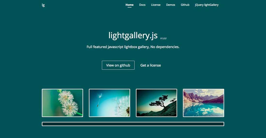 9 Lightgallery JS Animation