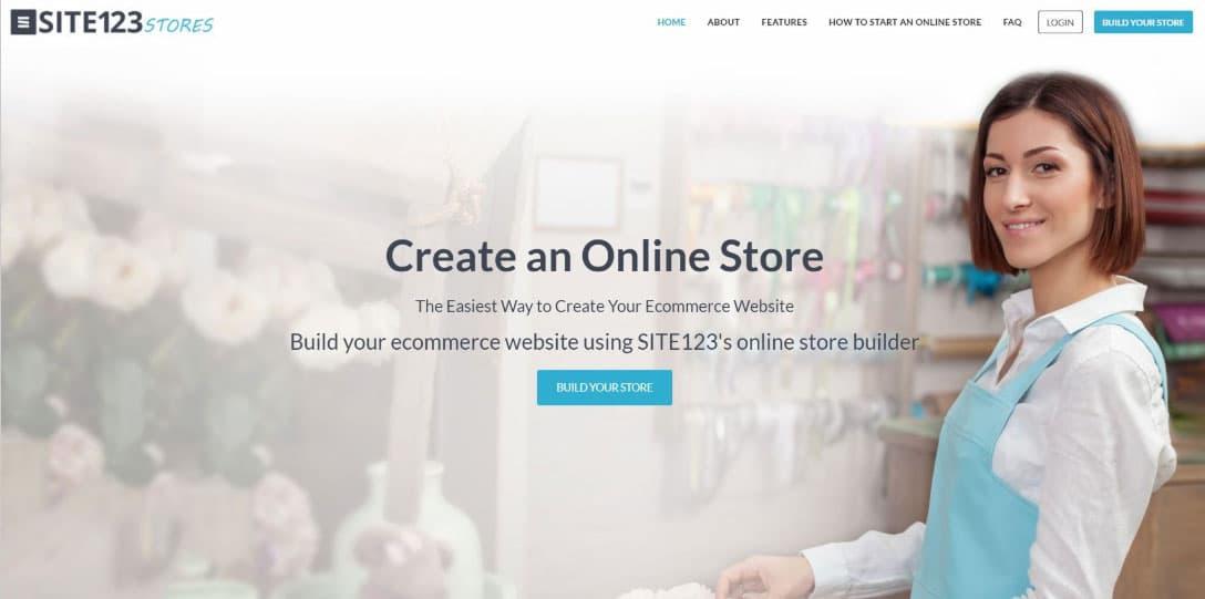 SITE123 eCommerce platform | REVIEW