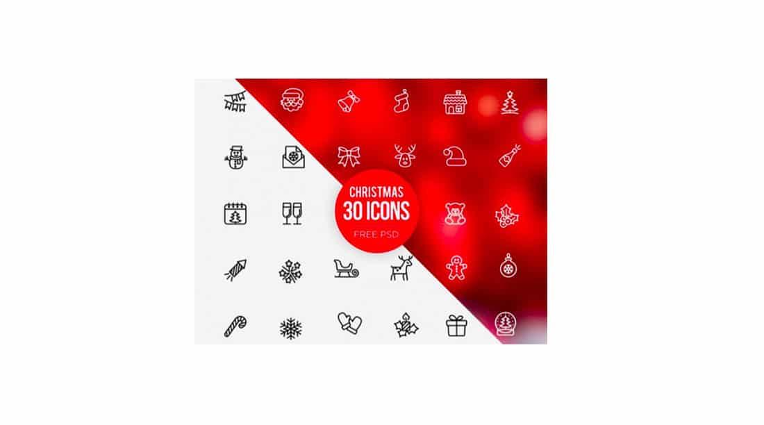 10 30 Free Christmas icons