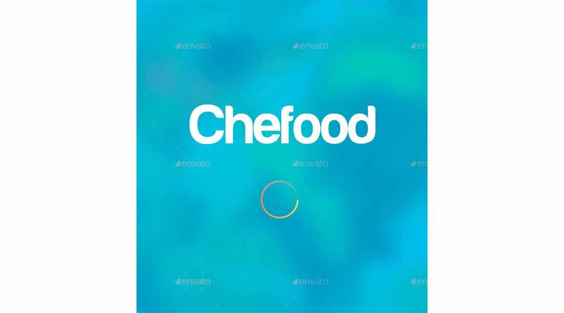 2 Food Apps UI Element