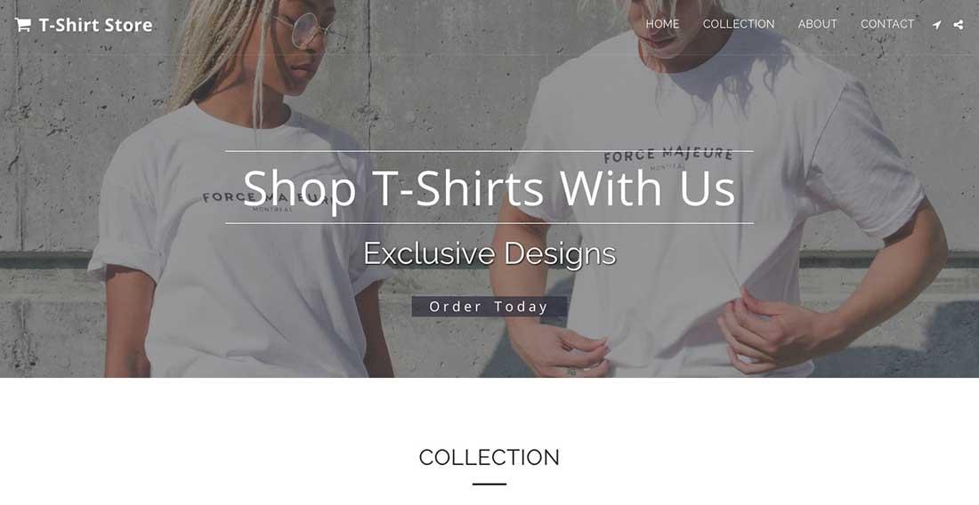 20 Shop T-Shirts