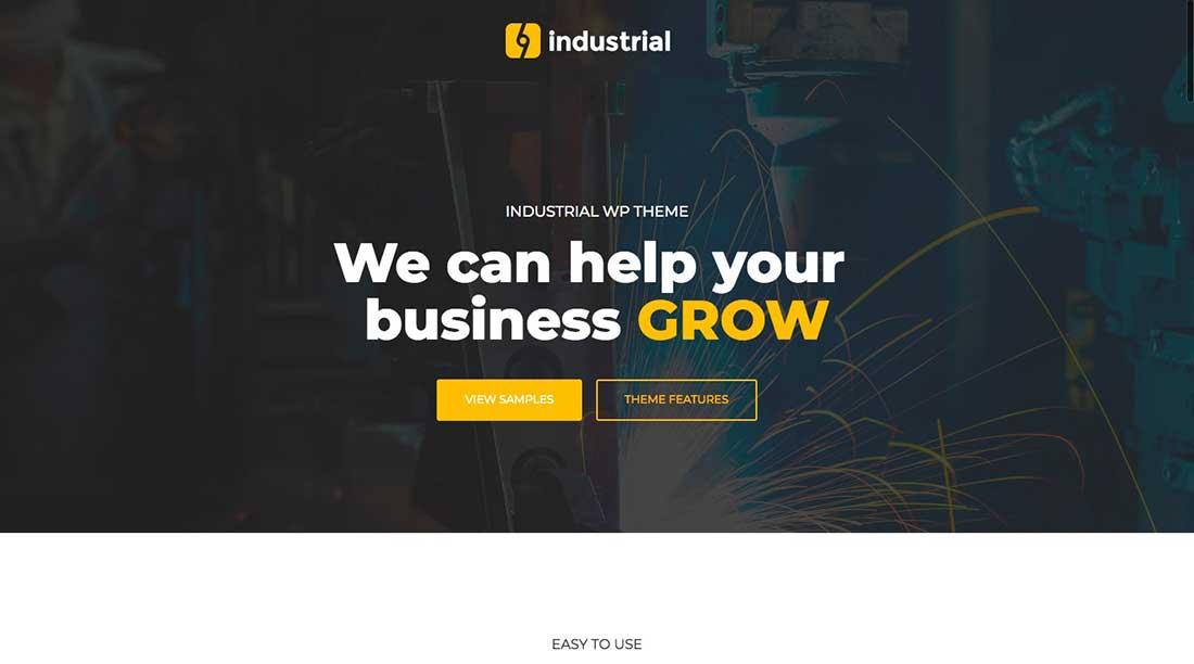 3 Industrial - Industry & Factory WordPress Theme