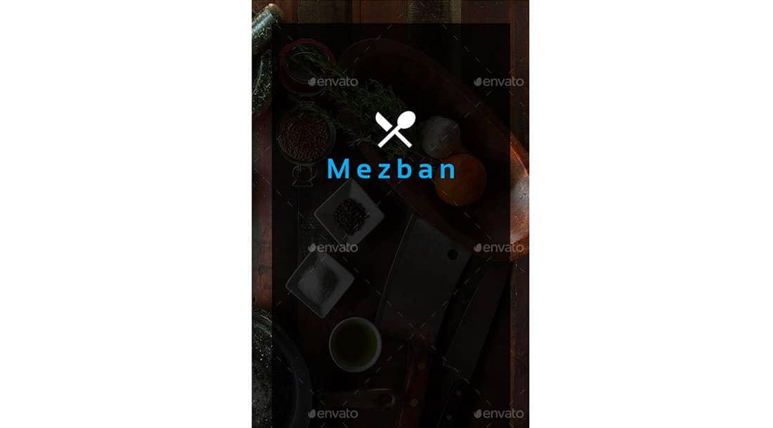 3 Mezban   Food Apps UI