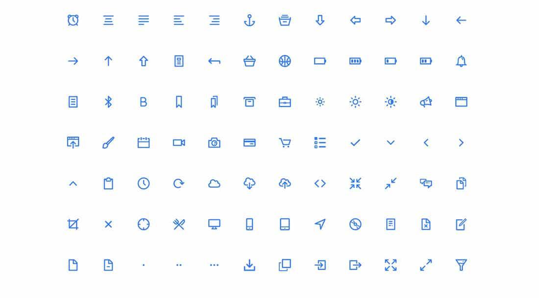 4 Dripicons v2- 200 free icons including web font