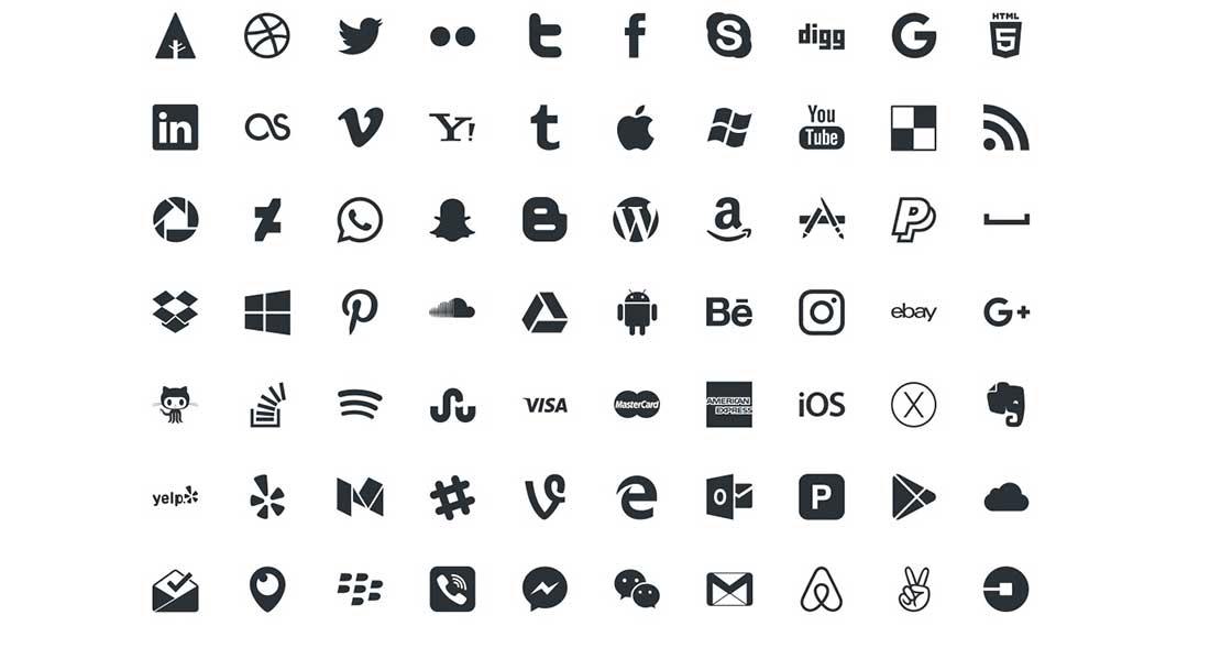 7 Picons Social- 60 Free social icons