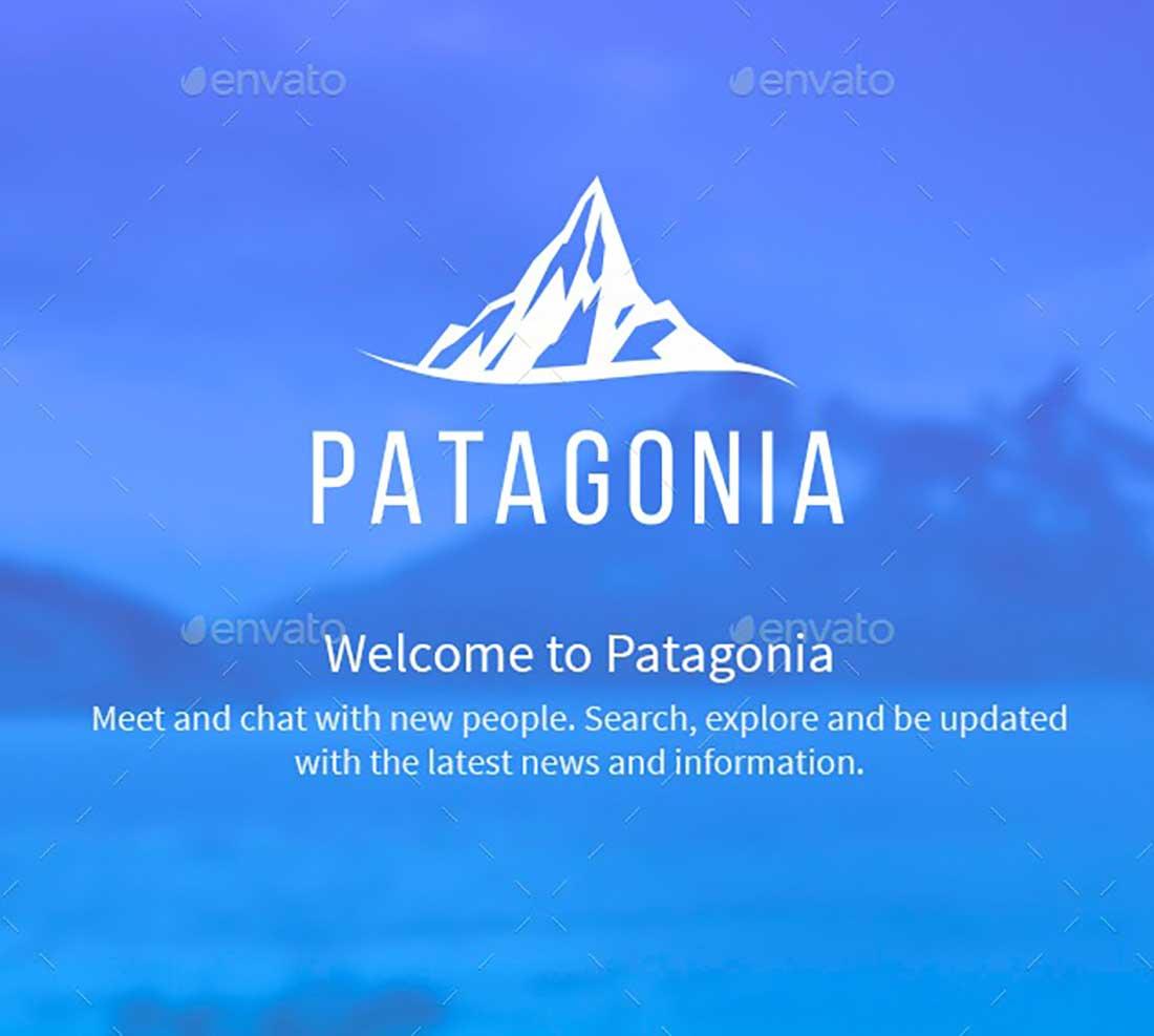12 Patagonia - Powerful iOS Mobile App UI