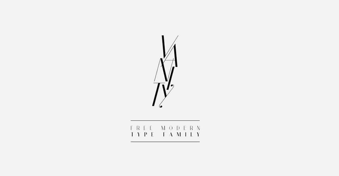 12 Vanity Free Elegant Font