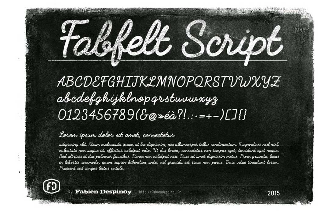 15 Fabfelt Script