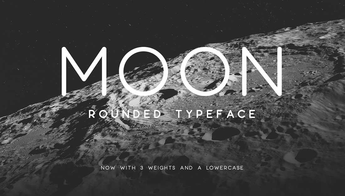 15 Moon Free Elegant Font