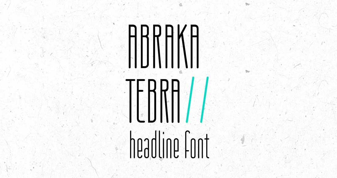 18 Abrakatebra Free Elegant Font