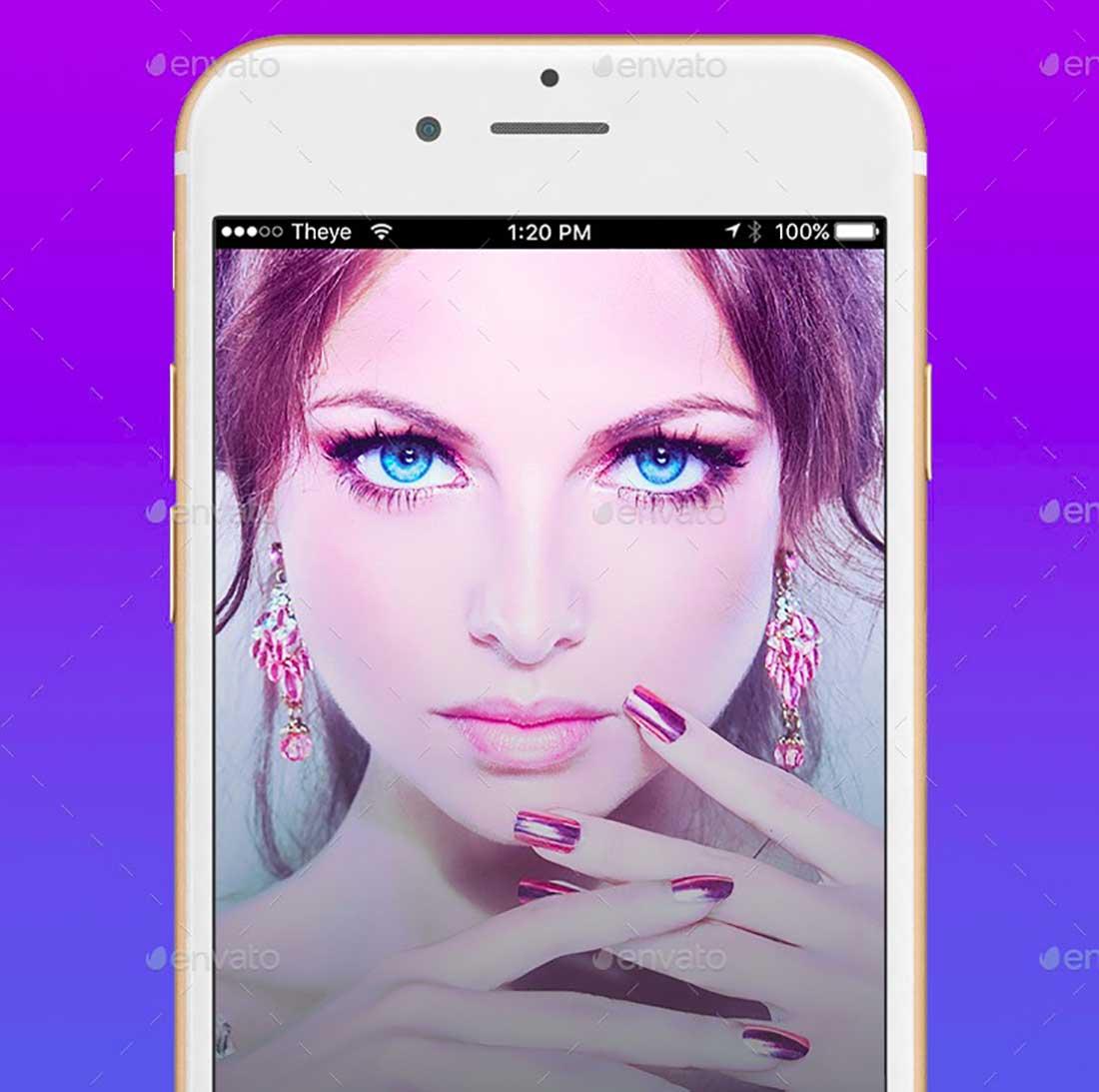 18 iOS Mobile UI:UX The Eye