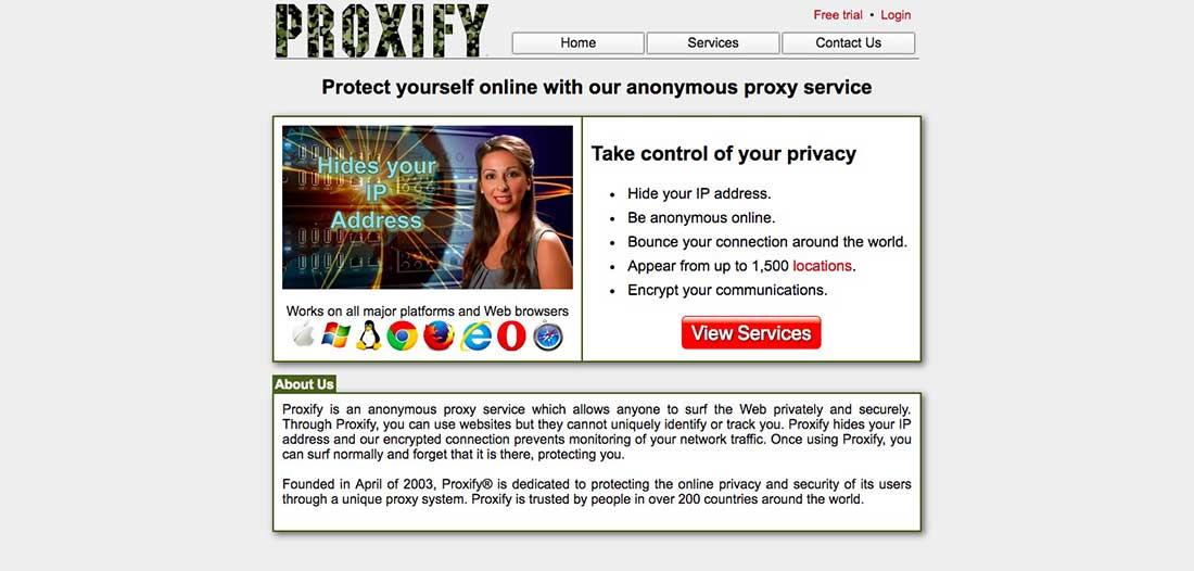 4 Proxify Free Web Proxy Servers