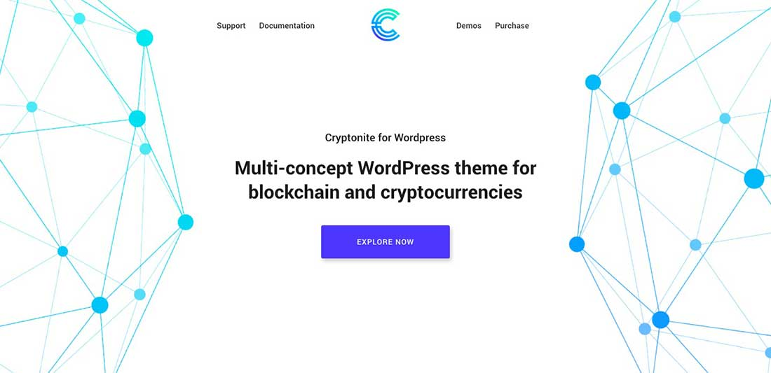 6 Cryptonite - Blockchain and Cryptocurrencies WordPress Theme