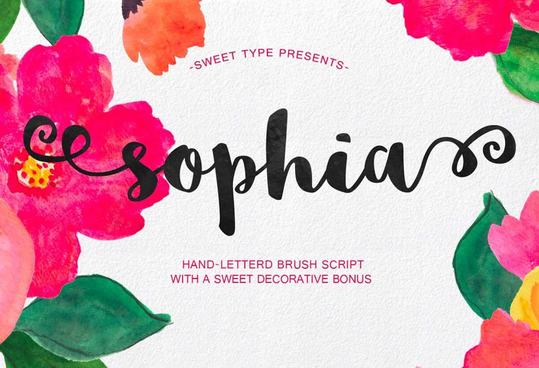 6 Sophia Script
