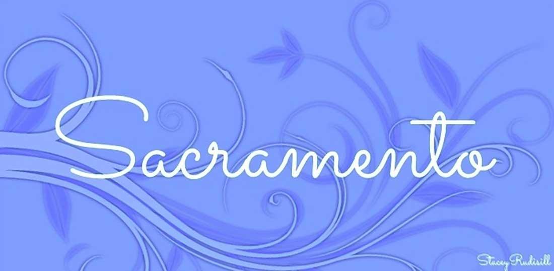 8 Sacramento Free Elegant Font
