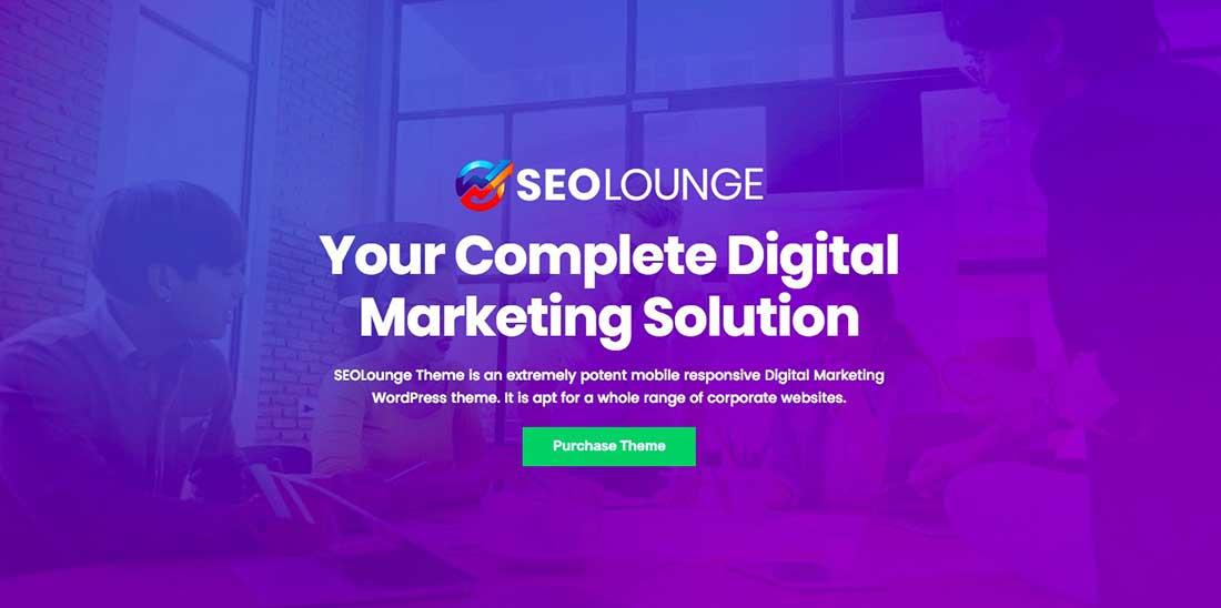 1 SEOLounge - SEO Agency WordPress Theme