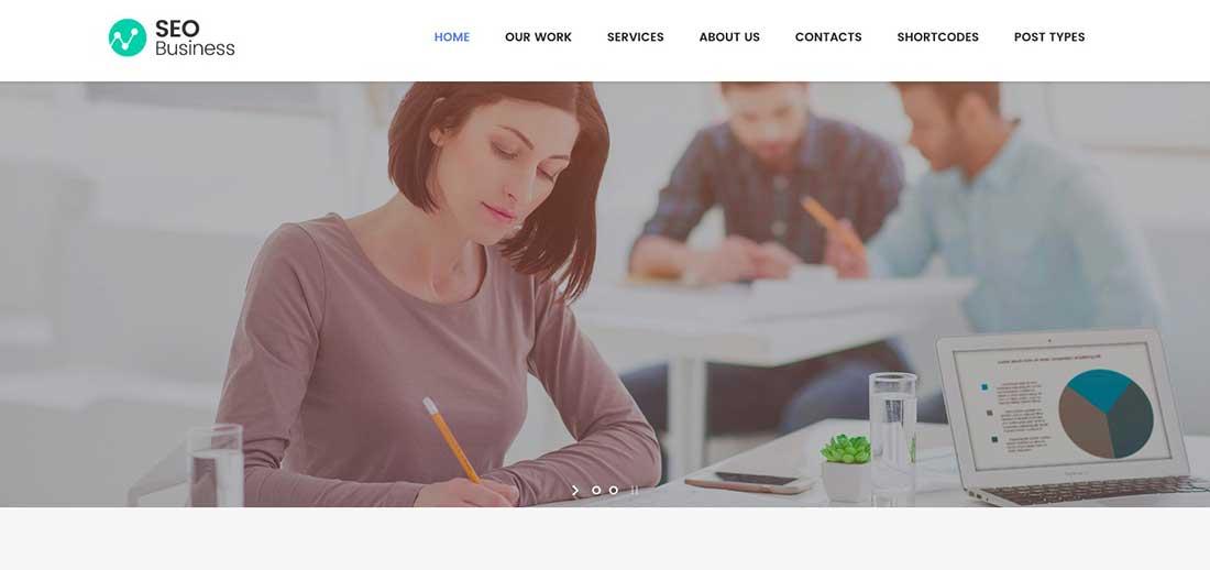 13 SEO Business - SEO, Social Media and Marketing WordPress Theme