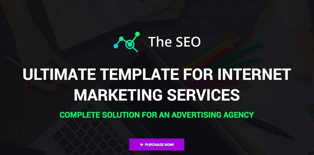 14 The SEO - Digital Marketing Agency WordPress Theme