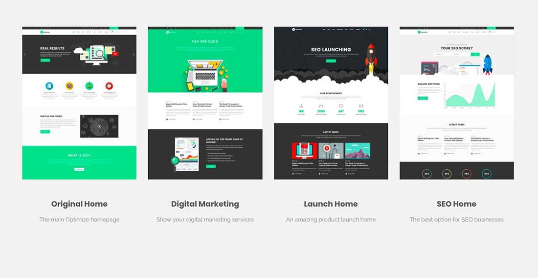 17 Optimize - SEO, Digital Marketing, Social Media Theme