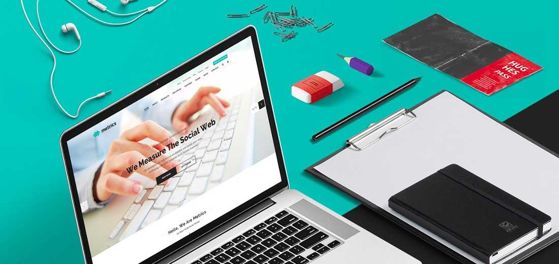 23 SEO Metrics - SEO, Digital Marketing, Social Media WordPress Theme