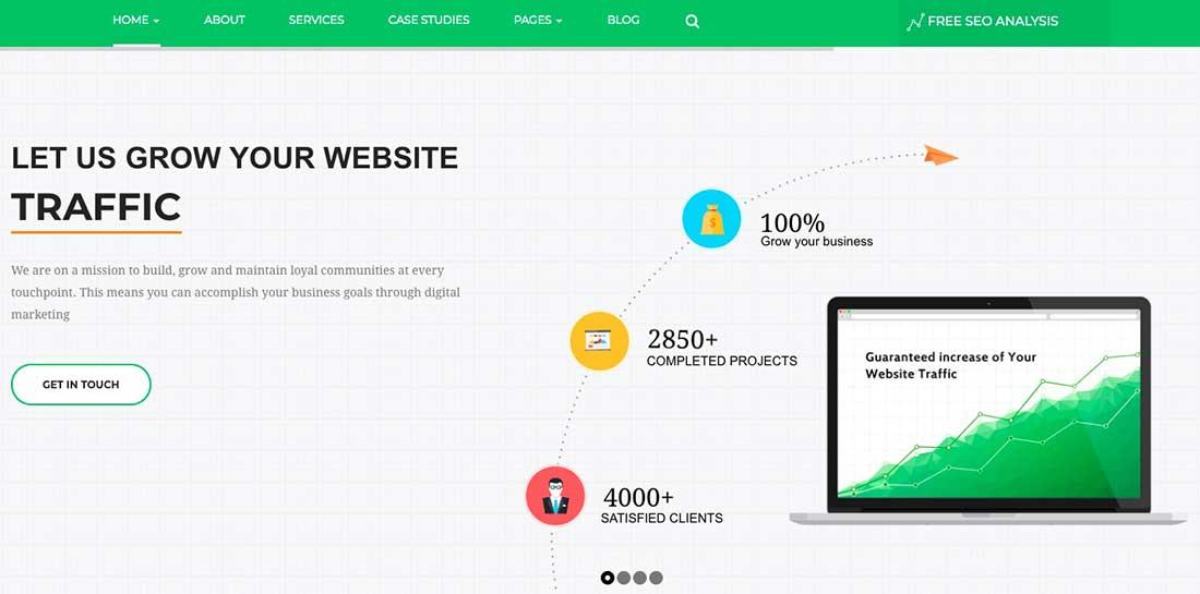 5 SeoWave - WordPress Theme forSEO