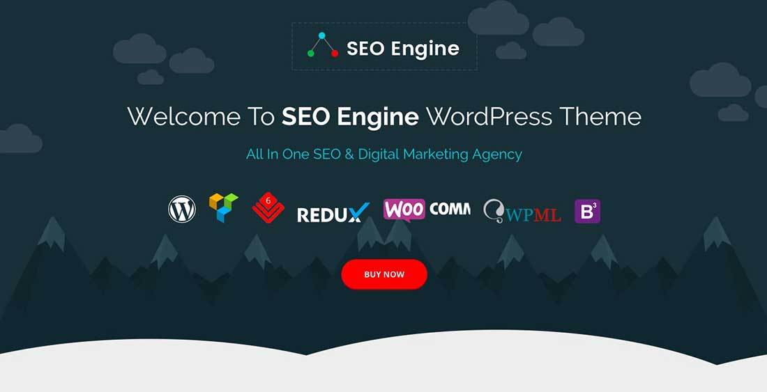 9 SEO Engine - SEO & Digital Marketing Agency WordPress Theme