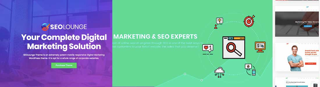 25 Best SEO Agency & Company WordPress Themes