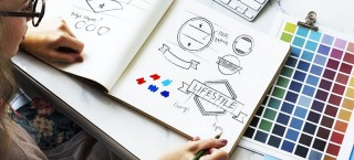 Logo Design Showcase - Highlight important features of logo