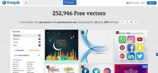 Freepik - Gráficos vectoriales de calidad gratis