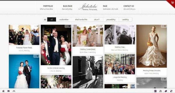Wedding themes - Header