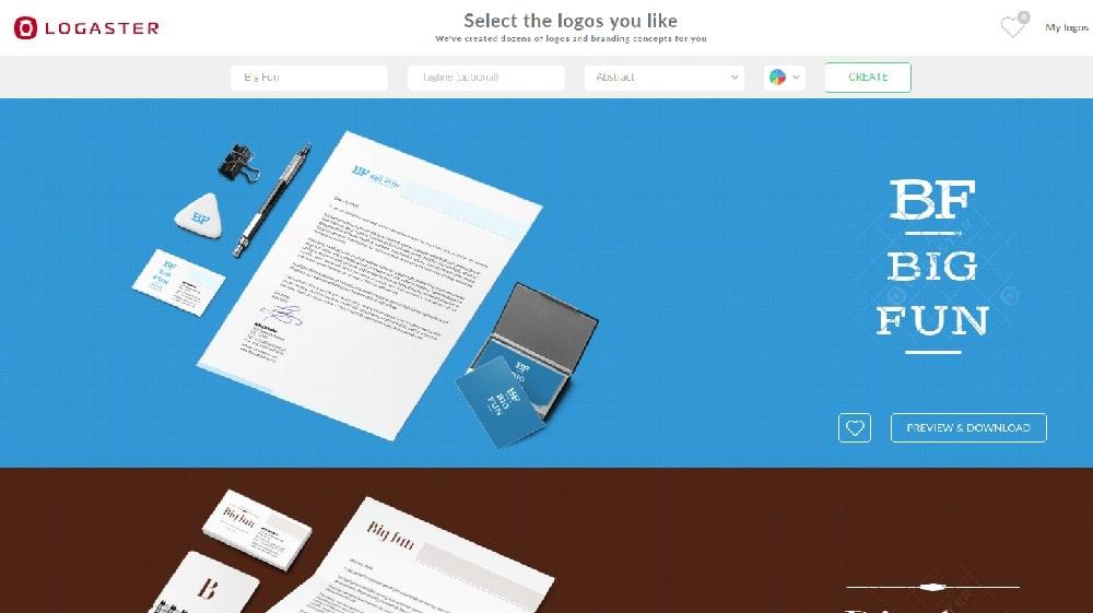 8 Best Free Logo Design Tools - Logaster