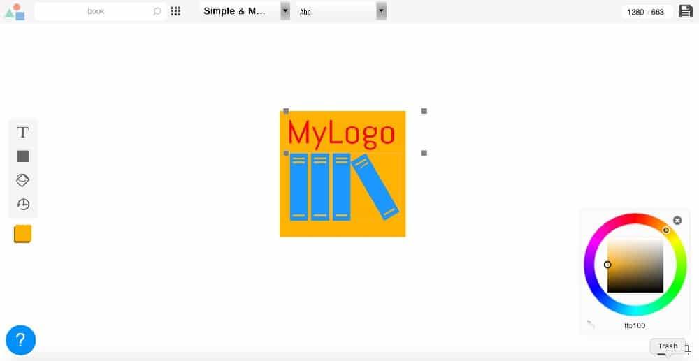 Las 8 mejores herramientas gratuitas de diseño de logotipos - LogoMakr