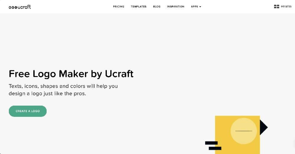 Las 8 mejores herramientas gratuitas de diseño de logotipos - Ucraft