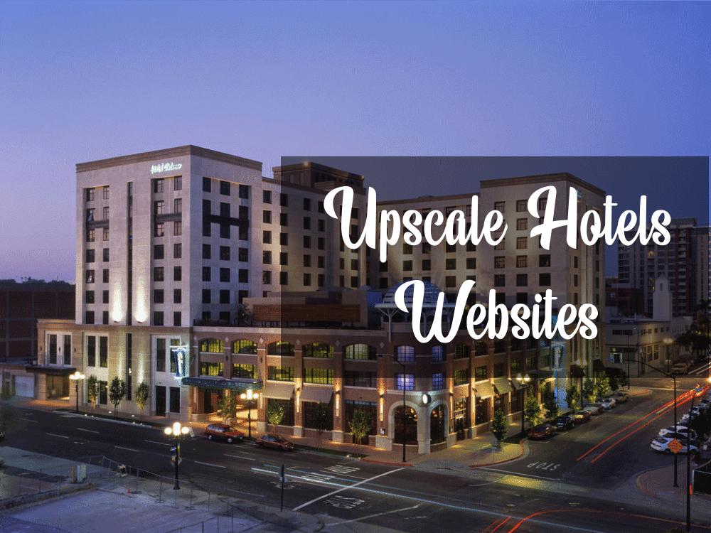 20 Upscale Hotel Website Design Examples